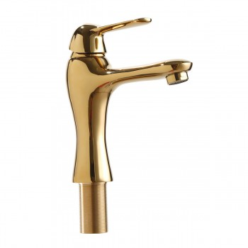 Bathroom Single Hole Faucet Brass Total Height 7 Height, 4 From Spout Brass Single Hole Faucet Bathroom Single Hole Faucet Bathroom Single Hole Faucets