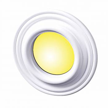 "<PRE>10 Spot Light Ring White Trim 4inch ID x 8"" OD Mini Medallion 10 Pack </PRE>zoom1"