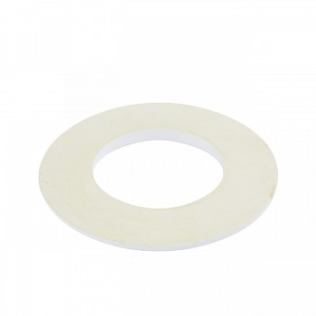 "<PRE>10 Spot Light Ring White Trim 5inch ID x 9"" OD Mini Medallion </PRE>zoom4"
