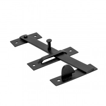 <PRE>Wrought Iron Door Latch Pull Suffolk Black 7 Inch</PRE>zoom7