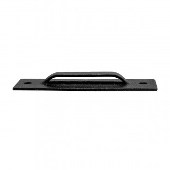 <PRE>Wrought Iron Door Latch Pull Suffolk Black 7 Inch</PRE>zoom10