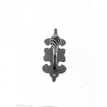 <PRE>10 Cabinet Pull Birdcage Black Wrought Iron 6inch </PRE>zoom8