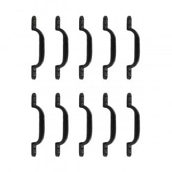 <PRE>10 Door Pull Black Wrought Iron Pull 6inch </PRE>zoom1