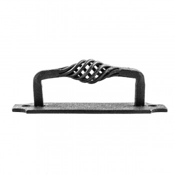 <PRE>10 Door or Drawer Pull Birdcage Black Wrought Iron 5 1/2inch </PRE>zoom5