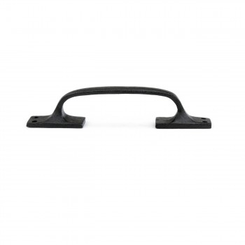 <PRE>6 Door Pull Black Wrought Iron 6inch </PRE>zoom6