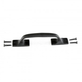 <PRE>6 Door Pull Black Wrought Iron 6inch </PRE>zoom8