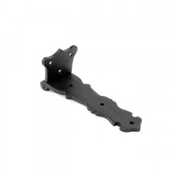 <PRE>Strap Hinge Black Wrought Iron Fleur de Lis Strap Hinge 5 1/2 in. Pack of 4</PRE>zoom5