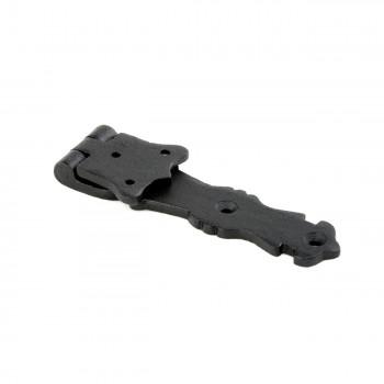 <PRE>Strap Hinge Black Wrought Iron Fleur de Lis Strap Hinge 5 1/2 in. Pack of 4</PRE>zoom6