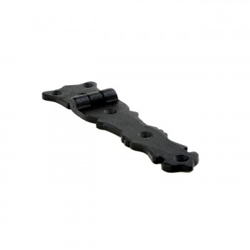 <PRE>Strap Hinge Black Wrought Iron Fleur de Lis Strap Hinge 5 1/2 in. Pack of 4</PRE>zoom8