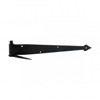 <PRE>14 inch Pintle Hinges Black Wrought Iron Spear and Diamond Etching Set of 10 </PRE>zoom4