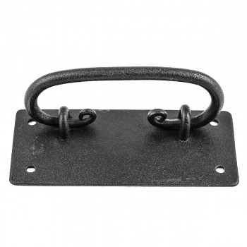 <PRE>10 Cabinet Drawer Door Pull Black Wrought Iron Mission 4inch  </PRE>zoom6