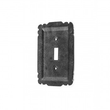 10 Switchplate Black Steel Single Toggle Switchplate Covers Black Switch Plates And Outlet Covers Decorative Switchplates