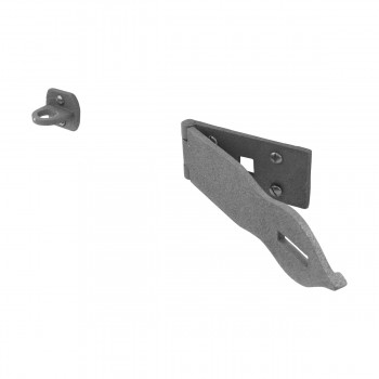 <PRE>10 Hasp Black Wrought Iron 1 3/4inch H x 8 1/2&quot; W </PRE>zoom4