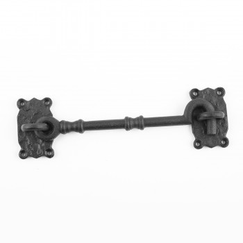 <PRE>Cabin Hook Privacy Latch Black Wrought Iron 7.25inch Set of 10</PRE>zoom4