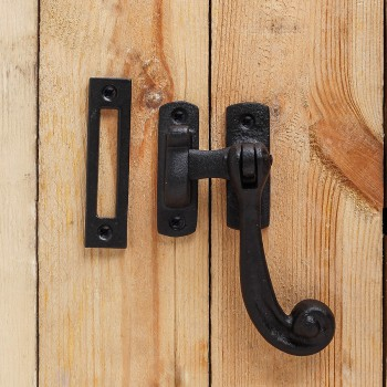 <PRE>12 Sash Window Door Lock Black Wrought Iron 4 1/2inch </PRE>zoom7