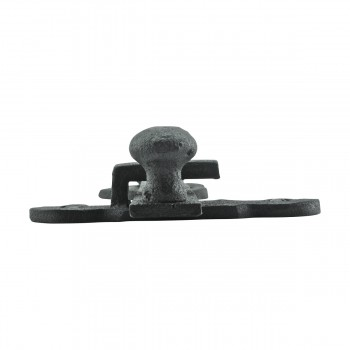 "<PRE>10 Gate Latch Heavy Black Wrought Iron Set 4inch X 6-3/8"" </PRE>zoom12"