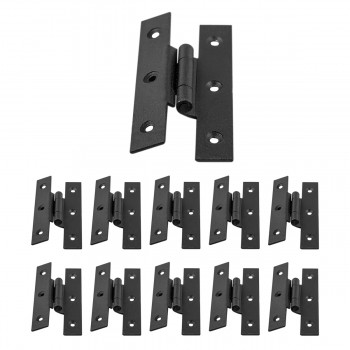 Cast Iron Cabinet H Hinge Style  3 12 H 38 Offset Set of 10 Hinges