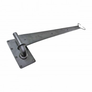 <PRE>6 Pintle Strap Door Hinge Heart Tip Black Wrought Iron 34inch </PRE>zoom3