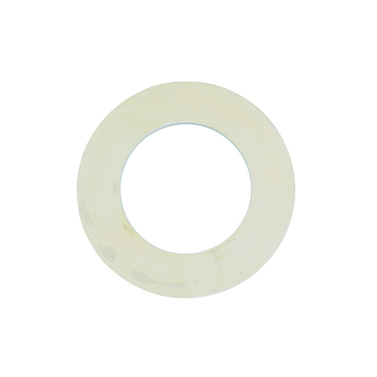 Spot Light Trim Medallions 6 Inch ID White Urethane Set of 10 small ceiling medallion spot light trim medallion spot light medallion