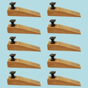 <PRE>10 Door Wedge Solid Mango Wood Oil Rubbed Bronze Knob Natural</PRE>zoom2