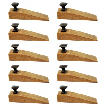 <PRE>10 Door Wedge Solid Mango Wood Oil Rubbed Bronze Knob Natural</PRE>