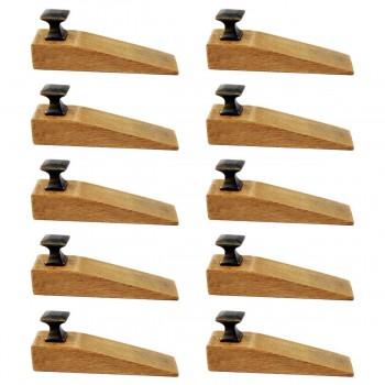 <PRE>10 Door Wedge Solid Mango Wood Oil Rubbed Bronze Knob Natural</PRE>zoom1