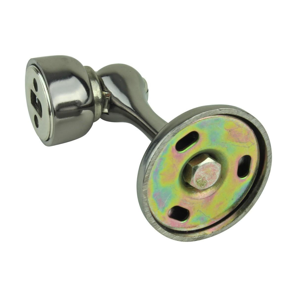 10 Magnetic Door Stop Safety Catch Black Nickel Zinc Alloy doorstop door bumper door holder