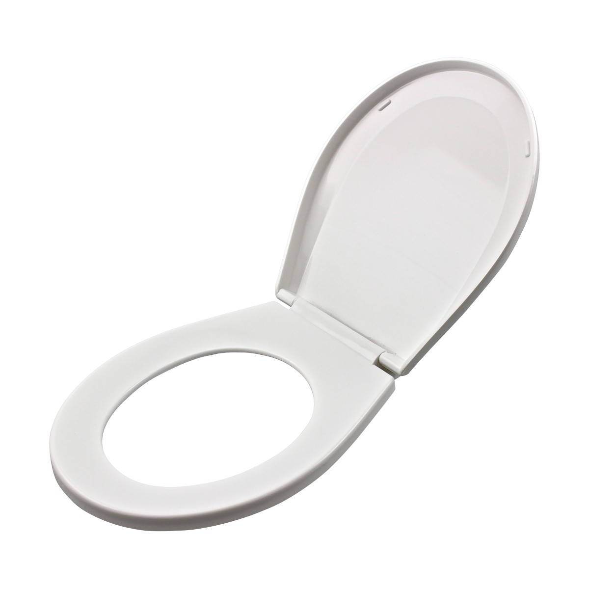 Child Sized Toilet Seat Replacement White Molded Plastic set of 4 novelty decorative replacement loo commode lavatory custom unusual luxury quality standard color design pretty