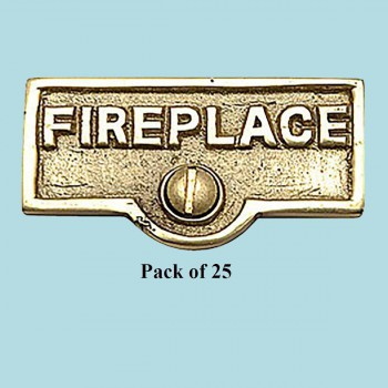 <PRE>25 Switch Plate Tags FIREPLACE Name Signs Labels Brass </PRE>zoom2