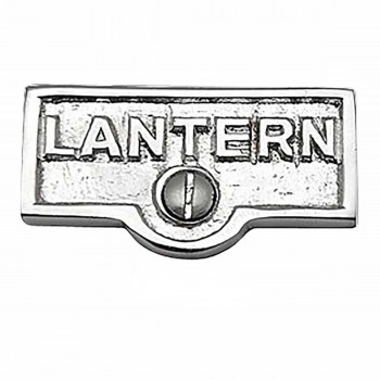 25 Switch Plate Tags LANTERN Name Signs Labels Chrome Brass Switch Plate Labels Switch Plate ID Labels Switch Plate Label