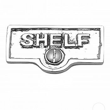 <PRE>25 Switch Plate Tags SHELF Name Signs Labels Chrome Brass </PRE>zoom1