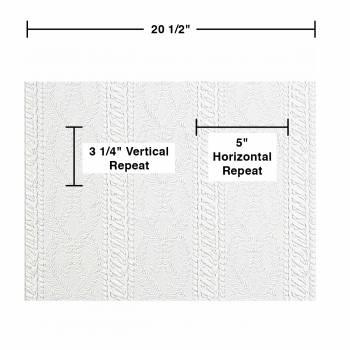spec-<PRE>6 Wallpaper White Embossed Textured Vinyl Greenwich </PRE>