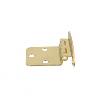 4 Cabinet Hinge Semiconcealed Solid Brass 1.75 W Door Hinges Door Hinge Solid Brass Hinge