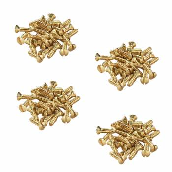 <PRE>Brass Switchplate Screws 6/32 x 1/2inch Slotted Oval Head Pack of 100</PRE>zoom1