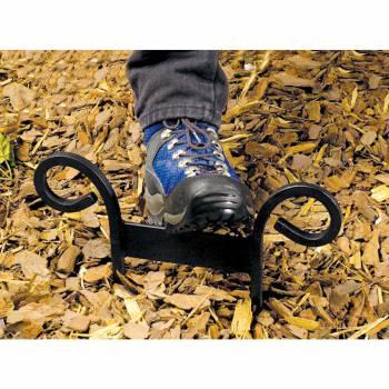 Curled H Black Boot Scraper
