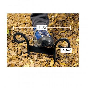 spec-Curled H Black Boot Scraper