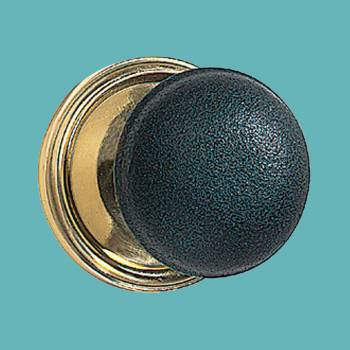Pair Black Solid Brass Door Knob Brass Shanks Door Knob brass Modern Door Knobs door knobs black