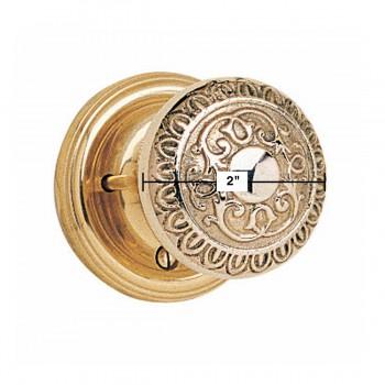 spec-<PRE>Privacy Door Lock Set 2 3/8&quot; Backset Heavy Cast Brass Knobs </PRE>