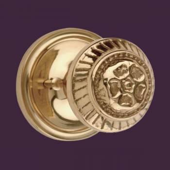 <PRE>Privacy Door Lock Set 2 3/8&quot; Backset Heavy Cast Brass Knobs </PRE>