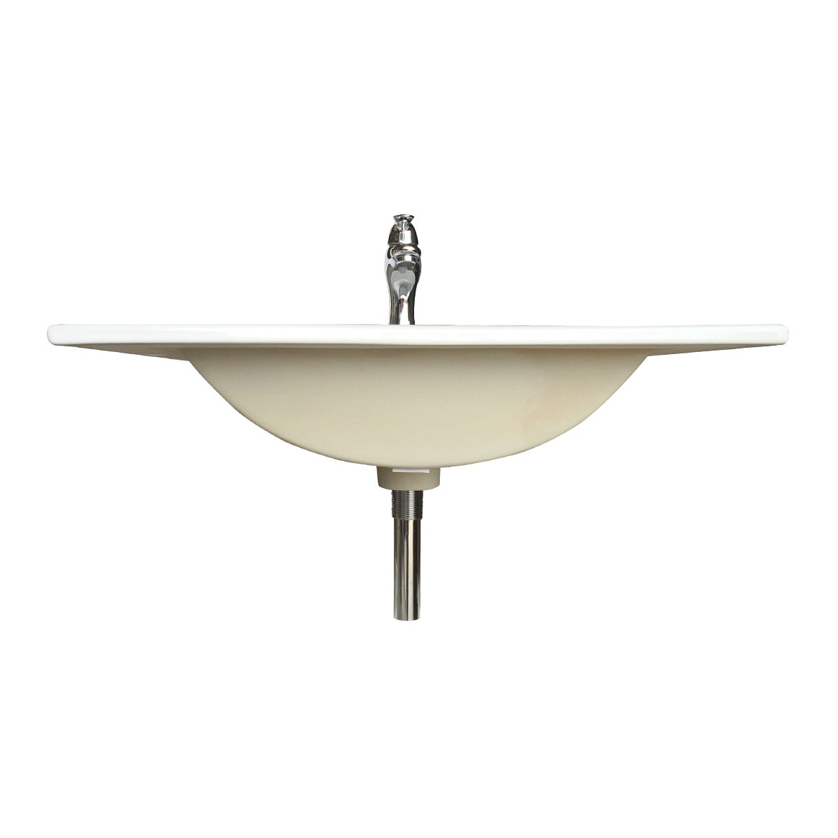 23 58 Bathroom White Grade A Vessel Drop in Sink Square Drain Overflow White Drop In Sink Dropin Bathroom Sink Drop In Rectangular Bathroom Sink