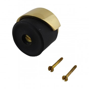 <PRE>4 Door Bumpers Polished Brass Floor/Wall Mount Set of 4 </PRE>zoom3
