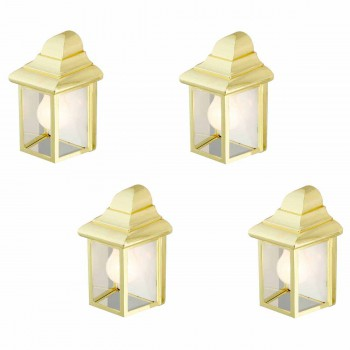 <PRE>4 Outdoor Lighting Bright Brass Light </PRE>zoom1
