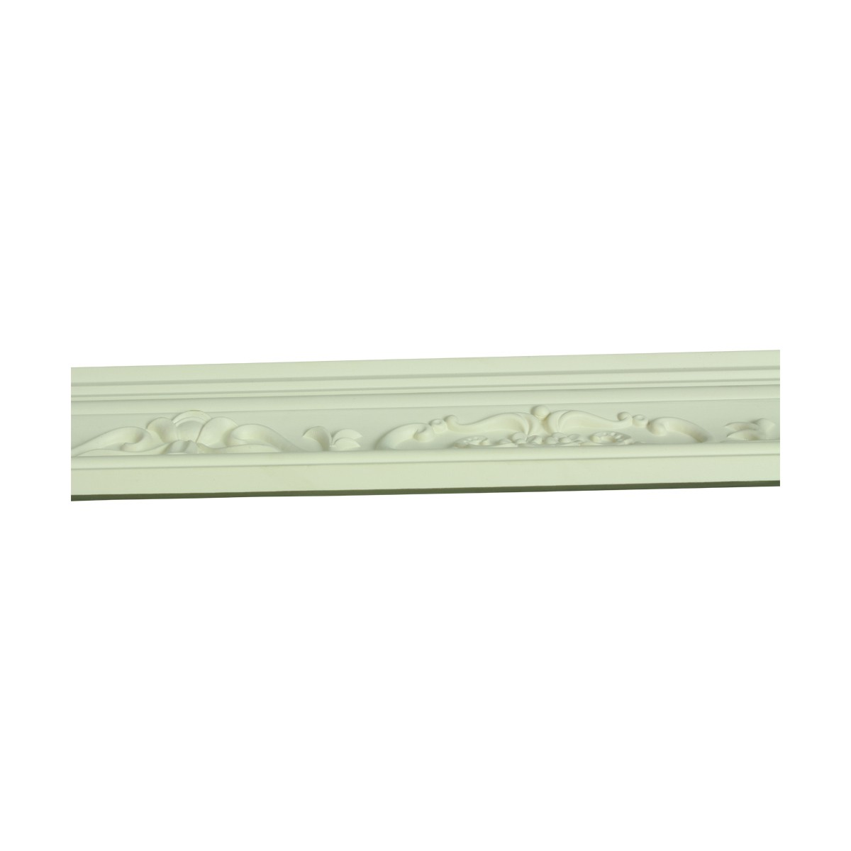 Renovators Supply Ornate Cornice White Urethane Amaryllis Design 5 Pieces Totaling 470 Length White PrePrimed Urethane Crown Cornice Molding Cornice Crown Home Depot Ekena Millwork Molding Wall Ceiling Corner Cornice Crown Cove Molding