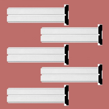 <PRE>Renovator's Supply Crown Molding White Urethane Honfleur  Design 5 Pieces Totaling 480inch Length</PRE>zoom2