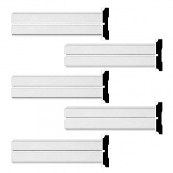 <PRE>Renovator's Supply Crown Molding White Urethane Honfleur  Design 5 Pieces Totaling 480inch Length</PRE>zoom1