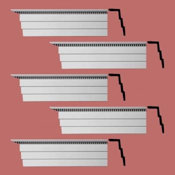 <PRE>Renovator's Supply Cornice White Urethane Barrington Ornate Design 5 Pieces Totaling 470inch Length</PRE>zoom2