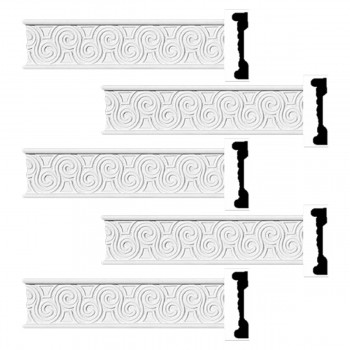 <PRE>Renovator's Supply Crown Molding White Urethane Ornate Design 5 Pieces Totaling 480inch Length</PRE>zoom1
