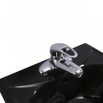 <PRE>Black Bathroom Small Pedestal Sink Vitreous China</PRE>zoom7