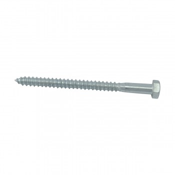 <PRE>5/16inch x 4&quot; Hex Lag Bolt Steel Zinc-Plated  </PRE>zoom1