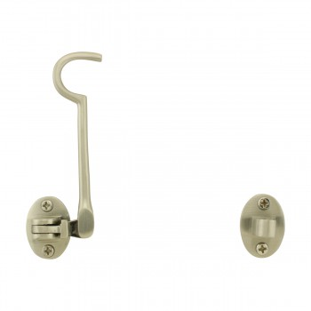 <PRE>Cabin Hook 4inch Satin Nickel Pack of 6</PRE>zoom3